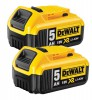 Dewalt DCB184 18V 2 x 5.0Ah XR-Lion Battery (Pack of 2) £134.95 Dewalt Dcb184 18v 2 X 5.0ah Xr-lion Battery (pack Of 2)