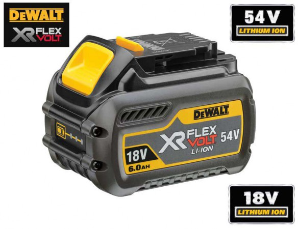 Dewalt DCB546-XJ 18V/54V XR FLEXVOLT 6.0/2.0Ah Battery
