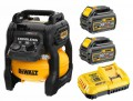 Dewalt DCC1054T2-GB 54V XR  FLEXVOLT Cordless Compressor With 2 x 6.0Ah Batteries £464.95 Dewalt Dcc1054t2-gb 54v Xr  Flexvolt Cordless Compressor With 2 X 6.0ah Batteries