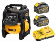 Dewalt DCC1054T2-GB 54V XR  FLEXVOLT Cordless Compressor With 2 x 6.0Ah Batteries £479.95