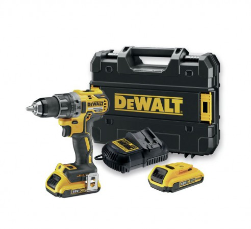 Dewalt DCD791D2 18V Brushless G2  Drill Driver with 2 x 2.0 Ah Batteries