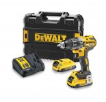 Dewalt DCD796D2B 18V Brushless G2 Hammer Drill Driver with 2 x 2.0Ah Bluetooth Packs was £309.95 £269.95