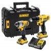 Dewalt DCK218D2T-GB 10.8V Combo Kit With NEW 10.8v Combi, Impact Driver 2 x 2.0Ah Batteries, Charger & TSTAK £169.95 Dewalt Dck218d2t-gb 10.8v Combo Kit With New 10.8v Combi, Impact Driver 2 X 2.0ah Batteries, Charger & Tstak