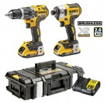 Dewalt DCK266D2 XR 18V Brushless IA Kit DS150 - 2.0Ah (Combi + Impact) Was £379.95 £299.00
