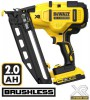 Dewalt DCN660D2 18V 16G Cordless Brushless Finish Nailer with 2 x 2.0Ah Li-ion Batteries, Charger & Case £439.95 Dewalt Dcn660d2 18v 16g Cordless Brushless Finish Nailer With 2 X 2.0ah Li-ion Batteries, Charger & Case
