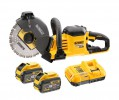 Dewalt DCS690X2-GB 54V XR FLEXVOLT 230mm Cut Off Saw with 2 x batteries & charger £859.95 Dewalt Dcs690x2-gb 54v Xr Flexvolt 230mm Cut Off Saw With 2 X Batteries & Charger