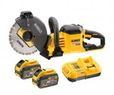 Dewalt DCS690X2-GB 54V XR FLEXVOLT 230mm Cut Off Saw with 2 x batteries & charger £799.95