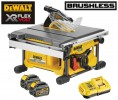 Dewalt DCS7485T2 54V XR FLEXVOLT Brushless Table Saw - 2 x Batteries And Fast Charger £659.95 Dewalt Dcs7485t2 54v Xr Flexvolt Table Saw - 2 X Batteries And Fast Charger