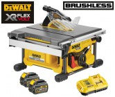 Dewalt DCS7485T2 54V XR FLEXVOLT Brushless Table Saw - 2 x Batteries And Fast Charger £629.95