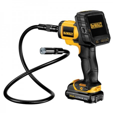 DEWALT DCT410D1 10.8V Inspection Camera (1 compact 2.0Ah Lithium battery)