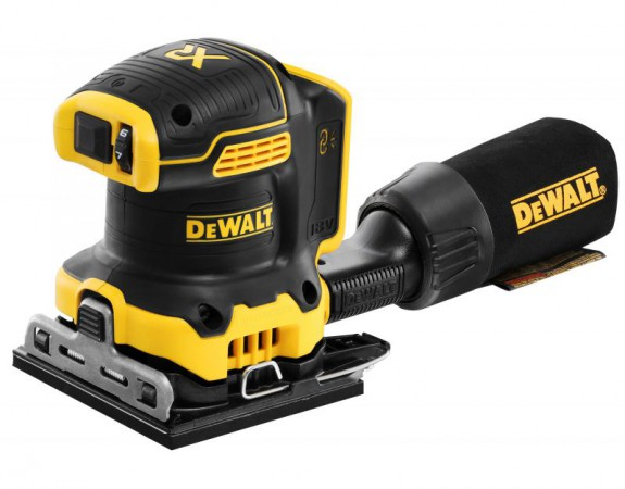 Dewalt DCW200N-XJ 18V XR Brushless 1/4 Sheet Orbital Sander - Bare Unit