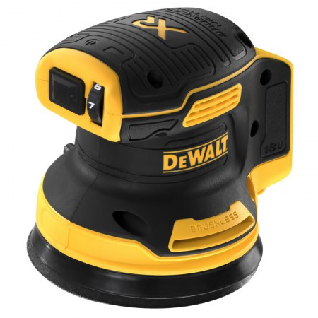 Dewalt DCW210N-XJ 18V XR Brushless 125mm Random Orbital Sander - Bare Unit