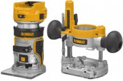 "Dewalt DCW604NT-XJ 18V XR Brushless ¼"" (8mm) Router Fixed & Plunge Bases - Bare Unit With T-Stak Case £289.00"