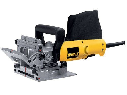 Dewalt DW682K 240V Biscuit Jointer 600W + 1,000 Size 10 Biscuits Worth £34.99
