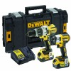DEWALT DCK276P2B Brushless Bluetooth Twin Pack 18V 2 x 5.0Ah Bluetooth Li-ion £379.95 The Dewalt Dck276p2b Brushless Bluetooth Twin Pack, Contains The Following: