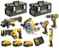 Dewalt DCK623P3-GB 18V XR Brushless Compact 6 Piece Kit (DCG405, DCS367, DCS570, DCF887, DCD796, DCL050) 3 x 5.0Ah & Cas £919.00 Dewalt Dck623p3-gb 18v Xr Brushless Compact 6 Piece Kit (dcg405, Dcs367, Dcs570, Dcf887, Dcd796, Dcl050) 3 X 5.0ah & Cases