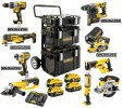Dewalt DCKDM9P4 18V XR 9pce XR Mega Kit With 4 x 5.0Ah Batteries, Dual Port Charger 3 x Tough System Cases & Trolley £1,549.00 Dewalt Dck 18v Xr 9pce Xr Mega Kit With 4 X 5.0ah Batteries, Dual Port Charger 3 X Tough System Cases & Trolley