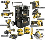 Dewalt DCKDM9P5 18V XR 9pce XR Mega Kit With 4 x 5.0Ah Batteries, Dual Port Charger 3 x Tough System Cases & Trolley £1,599.00