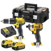 Dewalt DCZ285M2T 18V XR Combi Hammer & Impact Driver Twin Pack 2 x 4.0Ah Batteries, Charger & Case £219.95 The Dewalt Dcz285m2 Twin Pack, Contains The Following: