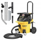 Dewalt DWV902M 240V M-class Dust Extractor + DWV9350 Cleaning Kit + DWV9500 T-Stak Plate £399.95