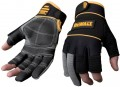 DEWALT DPG24 FINGER FRAMERS GLOVES - BLACK/GREY - LARGE £14.99 Dewalt Dpg24 Finger Framers Gloves - Black/grey - Large