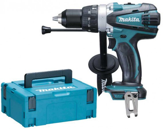 Makita DHP458ZJ 18V LXT 2 Speed Combi Drill Body Only With MakPac Case