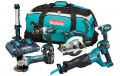 Makita DLX6044PT 18V LXT 6 Piece Kit  With 3 x 5.0Ah Li-Ion Batteries, Dual Port Charger £769.95 Makita Dlx6044pt 18v Lxt 6 Piece Kit  With 3 X 5.0ah Li-ion Batteries, Dual Port Charger