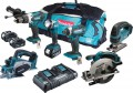 MAKITA DLX6067PT LXT 6 Piece Kit  With 3 x 5.0Ah Li-Ion Batteries, Dual Port Charger £719.95 Makita dlx6067pt 6pc 18v 3 X 5.0ah Combo Kit