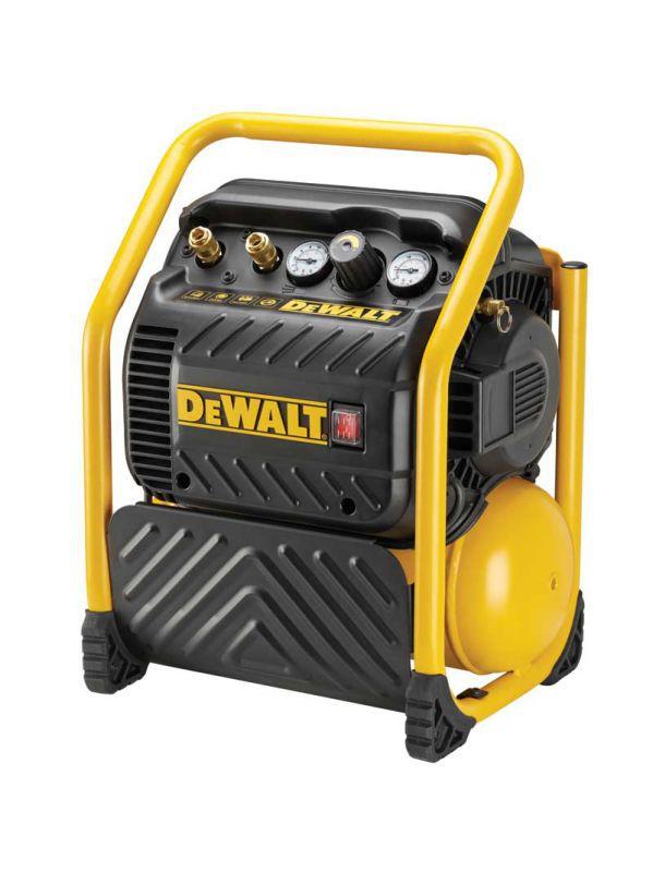 Dewalt Dpc10qtc-gb 240v Super Quiet Compressor 10lt Oil Free