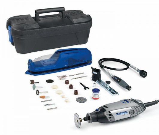 Dremel 3000-2/55 Diamond Kit With 55 Accessories