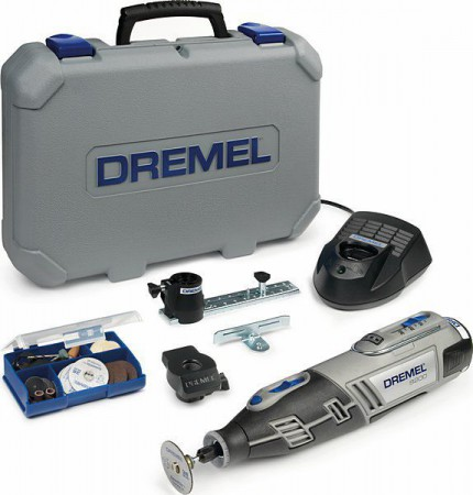 Dremel 8200 Series Cordless 10.8v Lithium Kit With Accessories