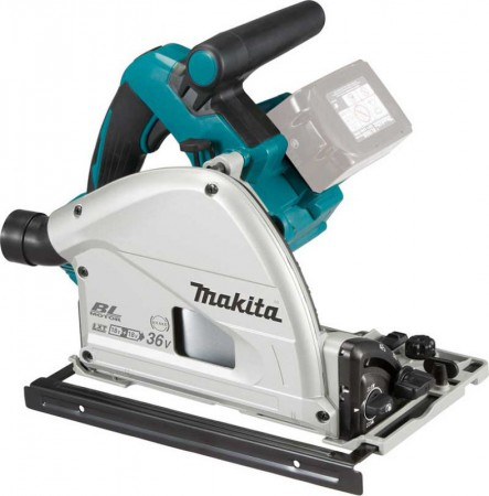 Makita DSP600ZJ 18V LXT 2 x 18v (36V) Brushless Cordless Plunge Saw - Body Only With MakPac Case