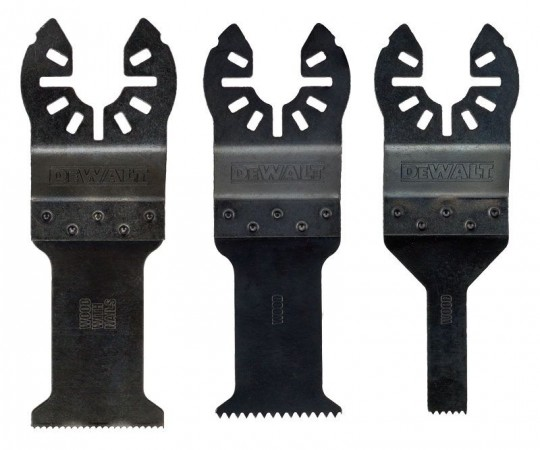 Dewalt DT20713 3pc Multi Tool Blade Pack