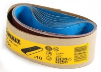 Dewalt DT3296 Sanding Belts 64 X 356mm 320 Grit (10 Pack) Was £9.99 £4.99