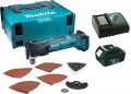 MAKITA DTM51 18V MULTI-TOOL QUICK CHANGE WITH CHARGER & 1 x 3.0Ah BATTERY MAKPAC CASE & ACCESSORY KIT £264.95 Makita Dtm51 18v Multi-tool Quick Change With Charger & 1 X 3.0ah Battery Makpac Case & Accessory Kit