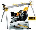 DEWALT DW717 XPS 240V 250MM DOUBLE BEVEL SLIDING MITRE SAW WITH CUT-LINE SYSTEM & DE7023 LEGSTAND £749.95 Dewalt Dw717 Xps 240v 250mm Double Bevel Sliding Mitre Saw With Cut-line System