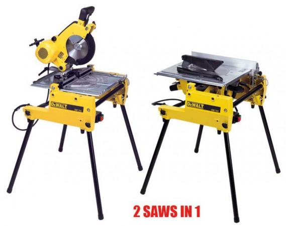 Dewalt Dw743n 110volt Flip Over Saw, DEW743NL at D&M Tools