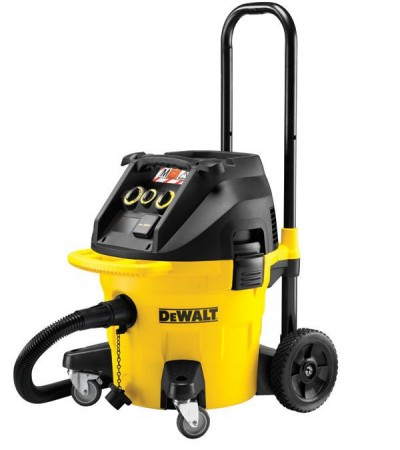 Dewalt DWV902M-GB 240V M-class Dust Extractor With Power Take Off