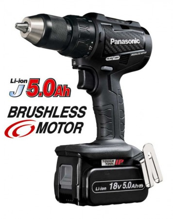 Panasonic EY79A2LJ2G31 18v Brushless Combi Hammer/Drill With 2 x 5.0Ah Batteries was £309.95
