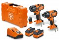 Fein 18V Brushless Combi & Impact Driver 2 x 5.2Ah Li-Ion Twin Pack, ALG80 Charger & Case £379.95 New Twin Pack: