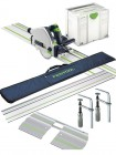Festool 561583 TS55REBQ-PLUS-FS 240V 160MM Plunge Saw With T-loc Systainer Case Plus 2 X 1.4m Guide Rail, 2 X Connectors £619.00