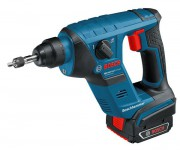 BOSCH GBH144VLiCP 14.4V COMPACT CORDLESS SDS+ HAMMER WITH 2 x 1.5AMP LITHIUM BATTERIES, CHARGER & L-BOXX was £279.95 £229.95