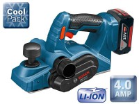 Bosch GHO 18 V-Li 18V Cordless Planer With 2 x 4.0Ah Li-ION Batteries & L-BOXX was £379.95 £299.95