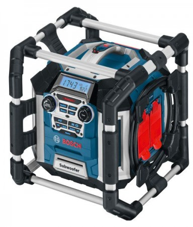 Bosch GML 50 50WATT Professional Jobsite Radio With Remote & Charger