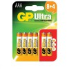 GP Ultra Alkaline Batteries AAA card of 12 (8+4) £2.99 Gp Ultra Alkaline Batteries Aaa Card Of 12 (8+4)