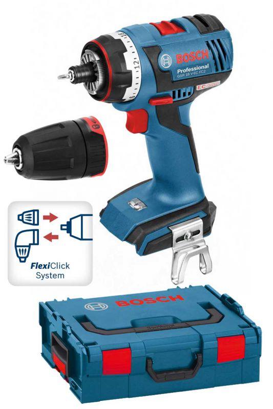 Bosch Gsr 18 V-ec Fc2 Professional Cordless Drill/driver With ...