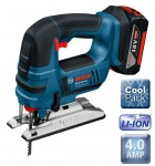Bosch GST18 V-Li 18V Cordless Jigsaw With 2 x 4.0 AH Li-ION Batteries & L-BOXX was £379.95 £339.95