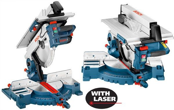 BOSCH GTM 12 JL 240V 305MM COMBINATION TABLE SAW U0026 MITRE SAW 1800W