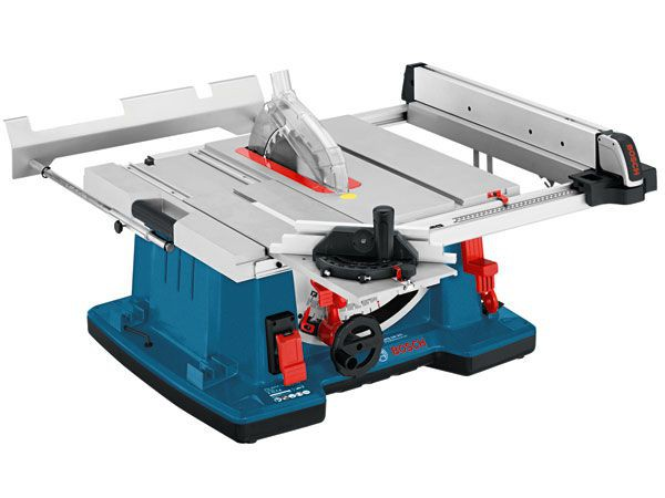 Bosch GTS10XC 240V 2100W Portable Table Saw 250mm With Sliding Carriage