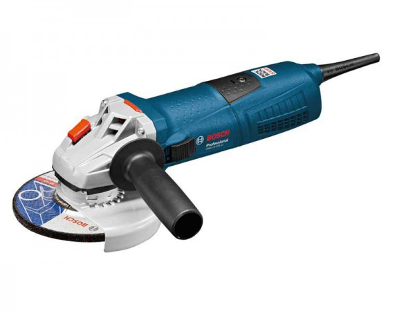Bosch GWS 13-125 Ci 240V 125mm 1300W Grinder With Vibration Control & Case
